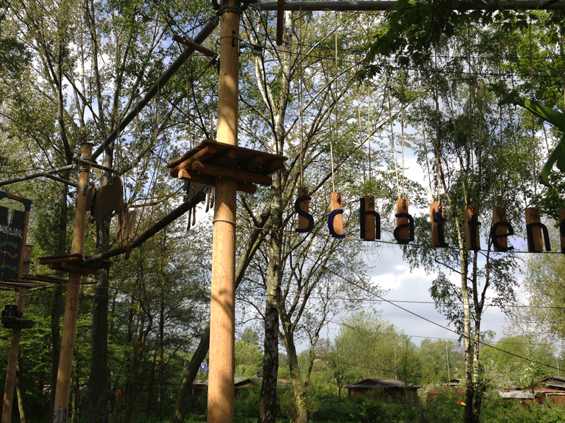 High rope course Hamburg
