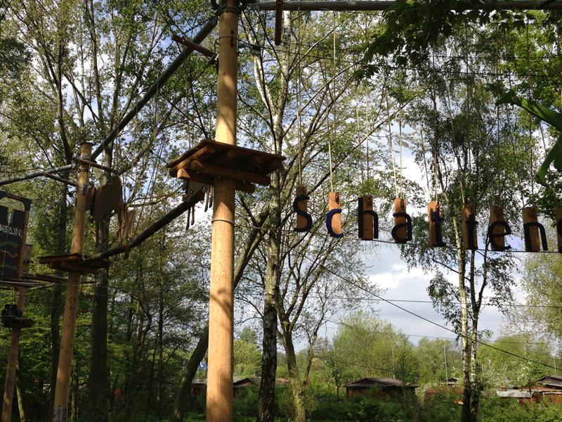 High rope course Hamburg